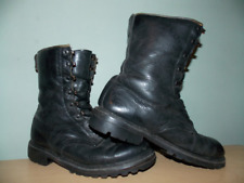 Vintage 1980's English Army Combat Boots Size 42 (US Men's Size 9)