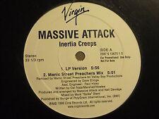 "MASSIVE ATTACK INERTIA CREEPS 12"" 1998 VIRGIN 7087 6 13670 1 0 PROMO TRIP HOP NM"