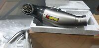 Yamaha MT-09 Xsr 900 Tracer MT Akrapovic Racing Linea Titan S-Y9R8-HEGEHT Nuovo
