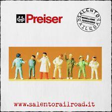 PREISER 14007 SET PERSONAGGI: bambini di inverno - 1/87