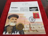 Numisbrief Weißrussland 1992 Minsk 20 Rubel Münze Sammler Münz Briefe Welt RAR
