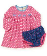 Matilda Jane Joyful Joyful Dress 18-24 Months Kittens Dots + Diaper Cover Nwt