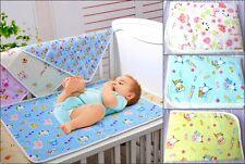 Bebé Niños Resistente Al Agua Colchón Sábana Protector Ropa De Cuna