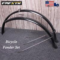 "FMFXTR MTB/Road/Folding Bike 700C/20/26/27.5/29"" Fender PVC Plastic Mudguard Set"