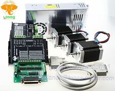 US Free shipping Nema23 Stepper Motor 270oz.in=1.9NM 76mm 3A DM542A CNC Router