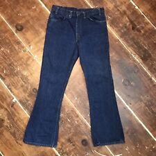 Vintage Levis 646 Bell Bottom Jeans Mens 36x32 Scovill Gardlok Zip