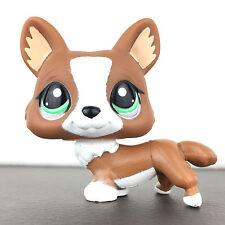 Authentic Littlest Petshop 2150 Dog Corgi / Chien LPS Hasbro Pet Shop Original