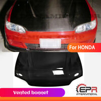 Vented bonnet (3Dr Hatch Back) Carbon Fiber For Honda 92-95 EG Civic