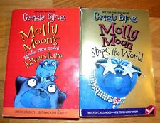 2 MOLLY MOON by Georgia Byng ~ Hypnotic Time Travel ~ Stops the World   L376