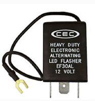 buzzer /&more CEC EF 33 12 v electronic LED flasher 3 prong w//instruct bracket