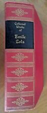 THE WORKS of EMILE ZOLA 1928 Walter J. Black NANA  A Love Episode ++