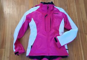 Spyder Women's snow ski jacket - 2 in 1 with detachable Black Spyder fleece jkt