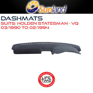 Sunland Dashmat Fits Holden Statesman VQ 03/1990 - 02/1994 All Models & Caprice