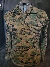 USMC Propper International Tactical/Field Shirt~Digital Camo~Size Sm-XSht~EUC