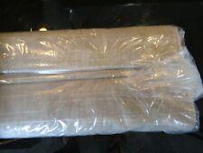 Pottery Barn Emery blackout  Roman shade cordless 34 66 oatmeal New custom size
