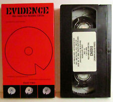 EVIDENCE the case for NASA UFOs DAN AKROYD PART TWO VHS VIDEO TAPE
