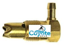 """1/2"""" NPT Pipe Thread Brass Fuel Gas Tank Roll Over Safety Vent Valve Rollover"""
