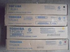 New ! 4PK Genuine Toshiba E-studio 2330C 2820C 2830C 3520C  Color Toner T-FC28Y