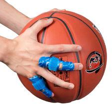 1x Kuangmi Finger Splint Support Brace Protector Bandage Pain Relief Blue S/m
