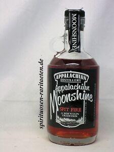 Appalachian Moonshine Spit Fire 35% West Virginia USA