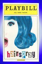 Playbill + Hairspray + Opening Night + Marissa Jaret Winokur , Matthew Morrison