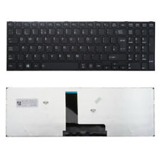 Teclado negro para Toshiba Satellite C50-B K000890020 F149 Reino Unido Layout con marco