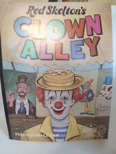 Autographed Red Skelton Clown Alley Large Unused Coloring Book