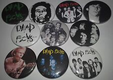 10 Dead Boys pin button badges 25mm CBGB Punk Rock The Ramones  Television
