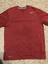 Nike dri-fit men's large l short sleeve athletic shirt