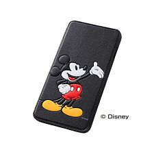 iPhone6 Plus Book Type Leather Case Disney Cartoons Mickey Mouse RT-DP8J / MK