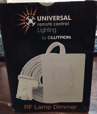 Lutron Rf Lamp Dimmer Mrfa-3Ld-Urc Wh Universal Remote Control Lighting ( New)