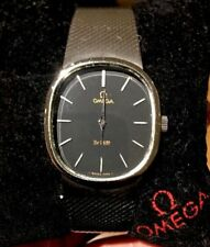 Rare, stunning OMEGA DeVille Swiss Mechanical Watch. Serviced. So very Ellipse!