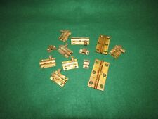 Various Brass Cupboard Bolts Plus A Couple of Hinges