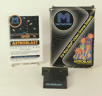 Vintage Boxed Atari 2600 game Astroblast By M Network Tested & Working