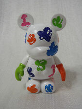 """Disney Vinylmation Oh Mickey Mouse Series White Color Faces Expression 3"""" Figure"""