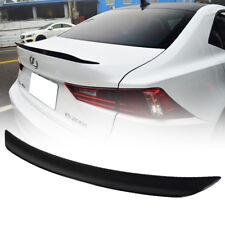 Dry Carbon For Lexus IS250 IS350 IS300 4DR Sedan B Type Trunk Spoiler Wing 2016