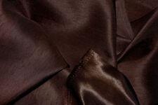Brown satin dos doupion tissu largeur 149cm rouleau (15 mts)