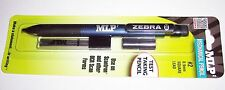 Blue MLP Zebra OCR Square Lead Mechanical Pencil + Extra Leads and Erasers! #2