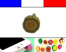 Cache anti-poussière jack universel iphone protection capuchon bouchon FRUIT 7
