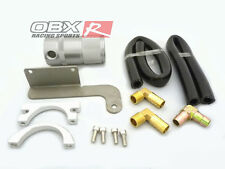 OBX Air Oil Separator 11 & Up 2011 Mustang Roush SC 5.0L V8 SilVER