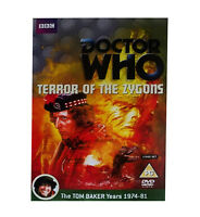 Doctor Who Terror Of The Zygons (DVD 2-Disc Set) Tom Baker Dr Who BRAND NEW BBC