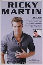 RICKY MARTIN 1999 SELF TITLED ALBUM UK PROMO POSTER