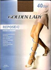 Golden Lady repose medias 40 den oscuro corta 36G IV