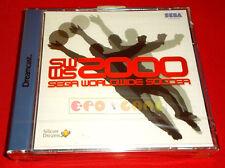 SWWS SEGA WORLDWIDE SOCCER Sega Dreamcast Dc Ver Europea PAL ○ NUOVO SIGILLATO