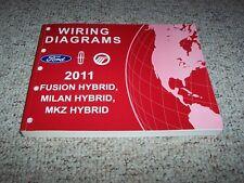 2011 Ford Fusion Hybrid Electrical Wiring Diagram Manual 3.0L V6