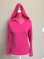 Puma Punk Light Cotton Short Hooded LS Top Size S Small