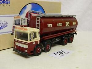 Corgi 1:50 AEC 8 Wheel Cylindrical Tanker North Eastern Gas Board Box 97932