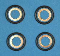 SET MERCEDES O-RINGE 200D 190D E200D KUPFERRING EINSPRITZPUMPE W124 W201 W202