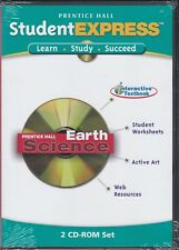 Student Express Prentice Hall Earth Science PC 2 CD-ROM Set **NEW**