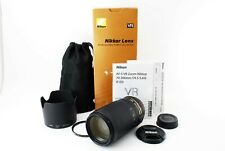 Nikon AF-S 70-300mm F/4.5-5.6G ED VR Lens Late Model Boxed Near Mint Tested